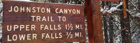 Bericht über unseren Besuch im Johnston Canyon in Kanada