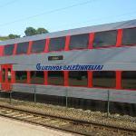 Erfahrung und Reisebericht über die Zugfahrt von Kaunas nach Vilnius