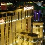 Hotelbewertung über das planet hollywood in Las Vegas, direkt am Strip gelegen