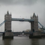 Reisebericht London vom zweiten Besuch - hier im Bild die Tower Bridge