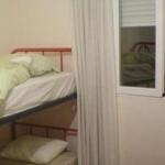 Ein 4er-Schlafraum im Magda Hostel in Madrid