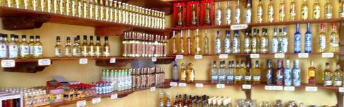 Die Mayapan Tequila Destillerie in Valladolid auf Yucatán