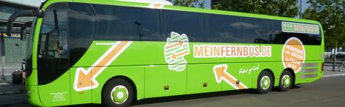 Bericht über die Busfahrt mit MeinFernbus von Berlin nach Dresden