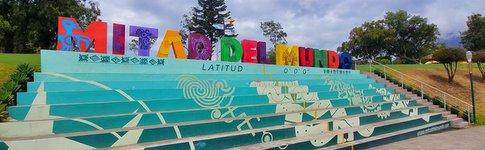 Impressionen aus Quito mit El Panecillo und Mitad del Mundo