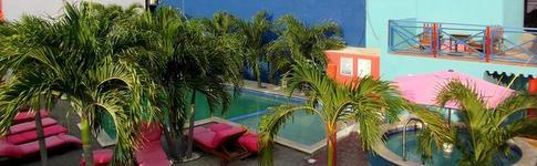 Hotelbewertung über das umgebaute Ritz Hostel in Willemstad auf der Karibik-Insel Curacaoo