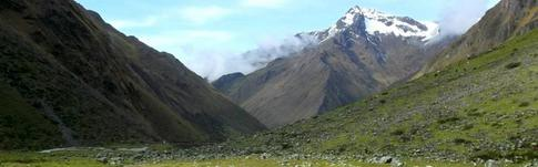 Salkantay Trek - eine der populären Wanderungen nach Machu Picchu