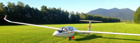 Bericht über meinen Flug mit dem Segelflugzeug in Benediktbeuern in Oberbayern