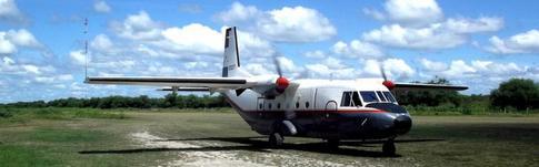 Flugbericht über meinen Flug mit SETAM in Paraguay von Bahia Negra über Vallemi nach Concepcion