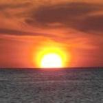 Einige Bilder zum Sonnenuntergang am Grand Anse Beach in Grenada