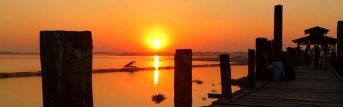 Die beeindruckendsten Sonnenauf- und Sonnenuntergänge in Myanmar
