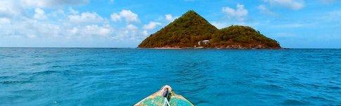 Unsere Übernachtung auf einer einsamen Insel - Sugar Loaf Island auf Grenada