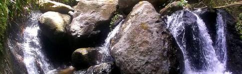Bericht über die Wanderung zum Tufton Hall Waterfall