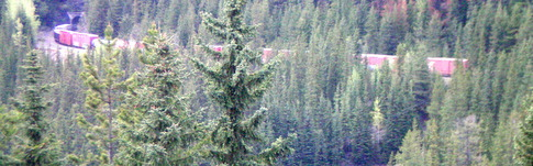 Bericht über den Yoho National Park in Kanada im Sommer und im Winter