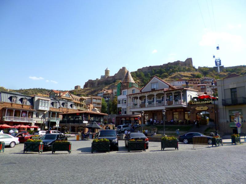 Der Gorgasali Square in Tiflis