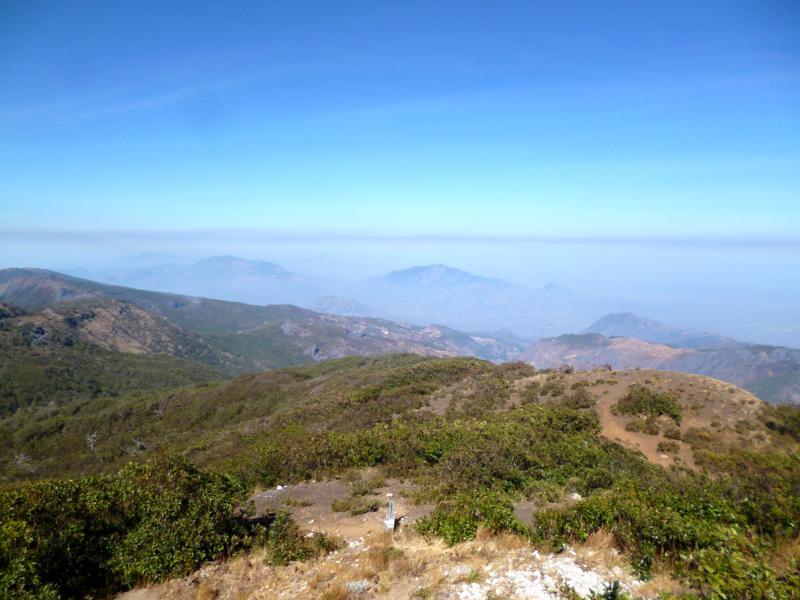 Ausblick vom Mount Ramelau, dem höchsten Berg in Timor-Leste