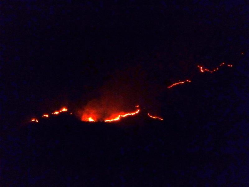 Waldbrände in Dare im Hinterland von Timor-Leste