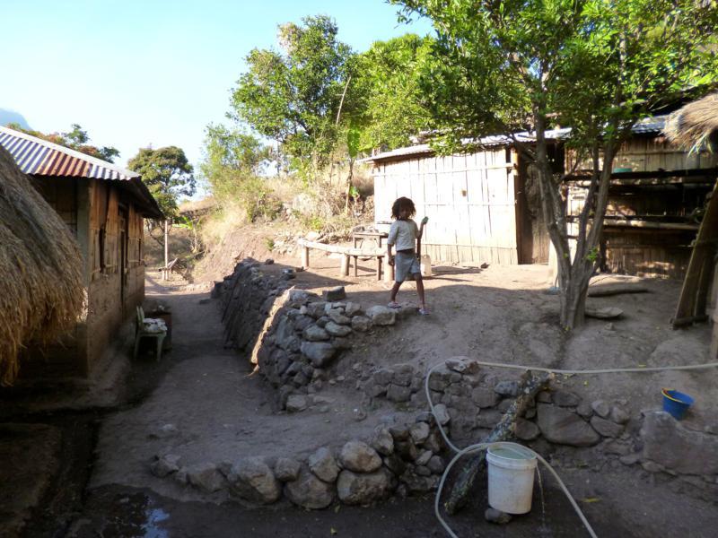 Unser Homestay in Dare mitten im Nirgendwo von Timor-Leste