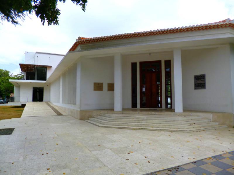 Das Widerstandmuseum in Dili, der Hauptstadt von Timor-Leste