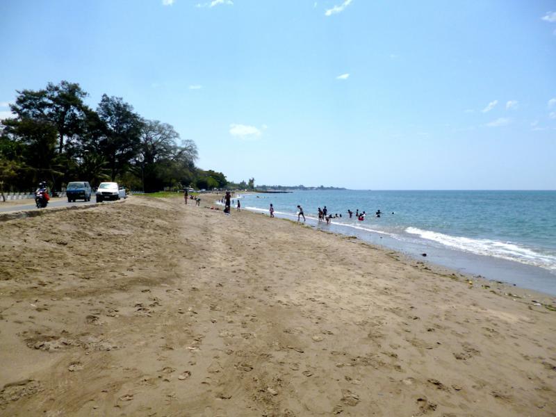 Der Dili City Beach in der Hauptstadt von Timor-Leste