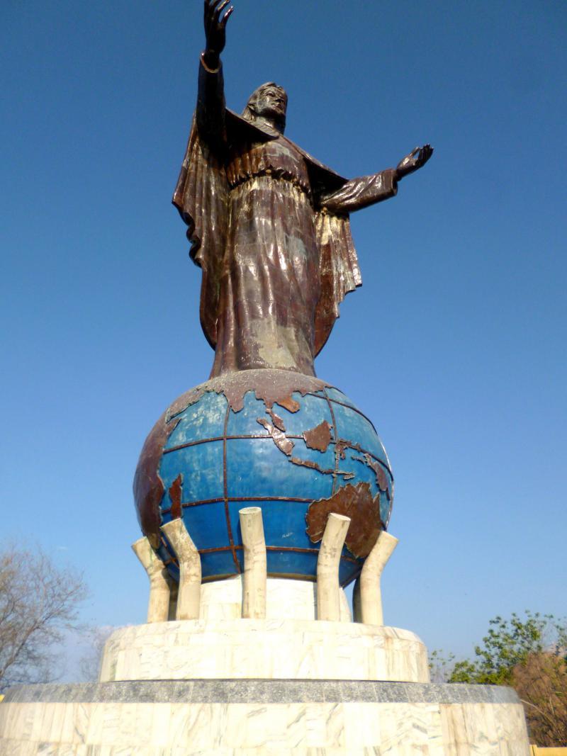 Die Jesus Statue Christo Rey, rund 6 Kilometer außerhalb von Timors Hauptstadt