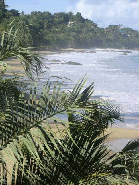 Die Stone Heaven Bay mit dem Grafton Beach im Südwesten von Tobago
