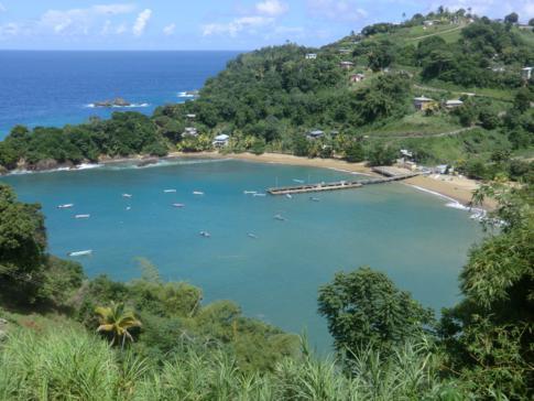 Die Parlatuvier Bay - ein Traum von Karibik
