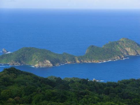 Ausblick vom Flagstaff Hill auf St. Giles Island und Melville Island