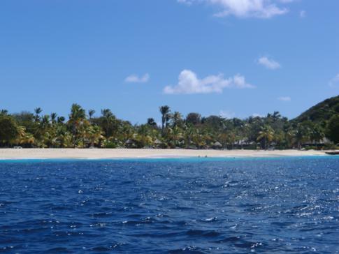 Die Privatinsel Palm Island mit dem gleichnamigen Luxusresort