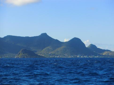Union Island, die südlichste der bewohnten Grenadinen-Inseln