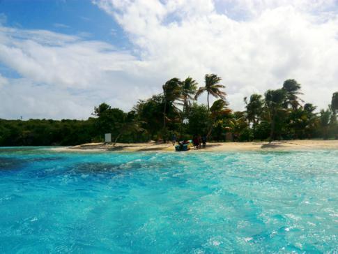 Petit Bateau, eine der 5 kleinen Inseln der Tobago Cays