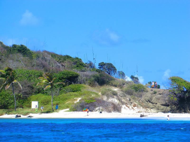 Petit Baradal auf den Tobago Cays