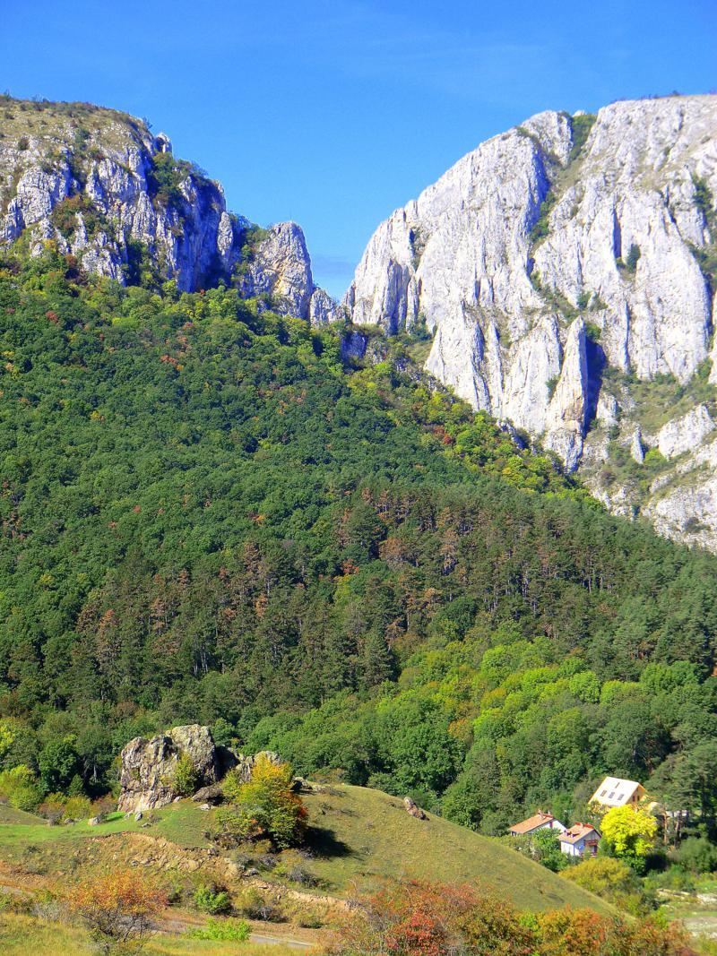 Beeindruckender Anblick von Cheile Turzii in Transsilvanien
