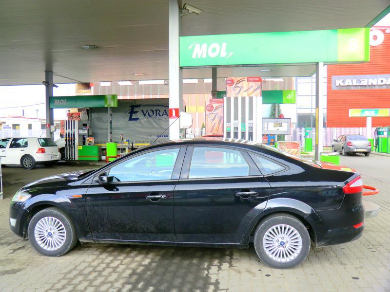 Unser Mietwagen in Transsilvanien