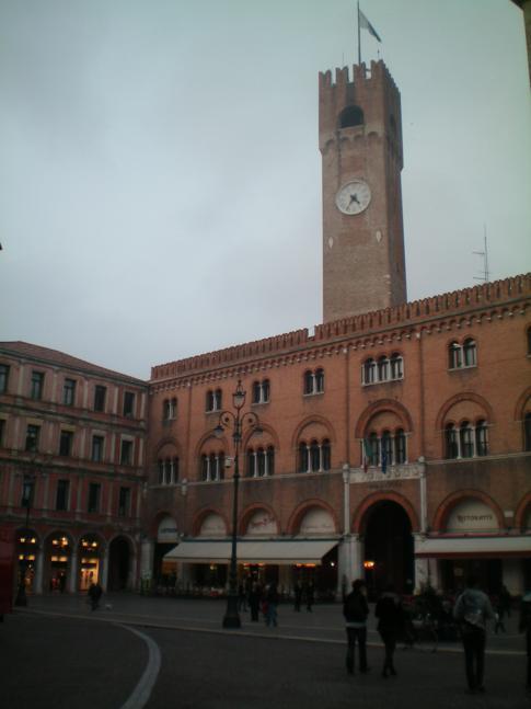Der Piazza del Signori in Treviso