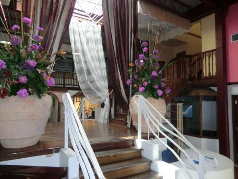 Marktbereich im Normandie Hotel