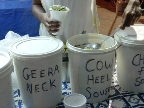 Nicht unbedingt empfehlenswert: Cow Heel Souse