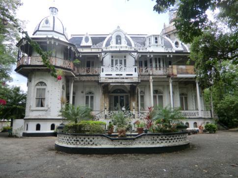 The Magnificient Seven im Zentrum von Port of Spain, Trinidad