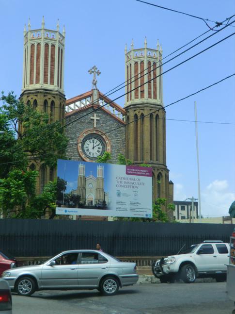 Der Independence Square im Herzen von Port of Spain