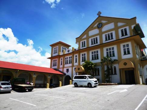 Das Monestary Mt. St. Benedict in Trinidad