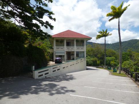 Das Pax Guesthouse direkt neben dem Kloster