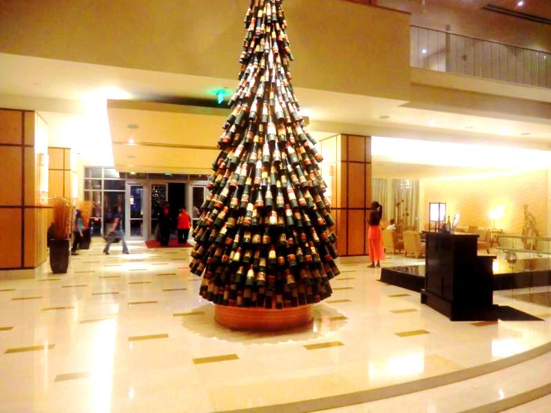 Die Lobby im Hyatt Regency Port of Spain in Trinidad