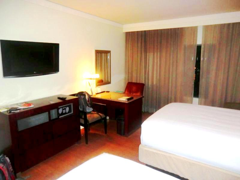 Unser Zimmer im Hyatt Regency Port of Spain in Trinidad