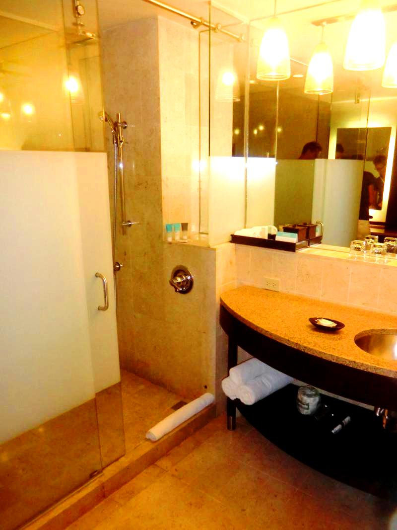 Unser Zimmer im Hyatt Regency Port of Spain in Trinidad