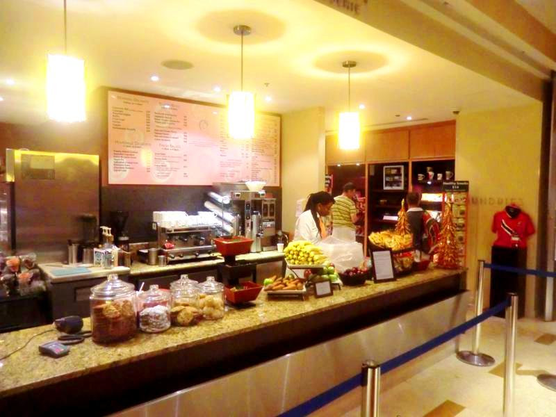 Deli-Shop im Hyatt Regency Port of Spain in Trinidad