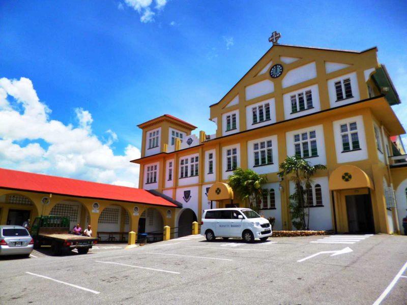 Das Kloster Mount St. Benedict nördlich des Piarco International Airport