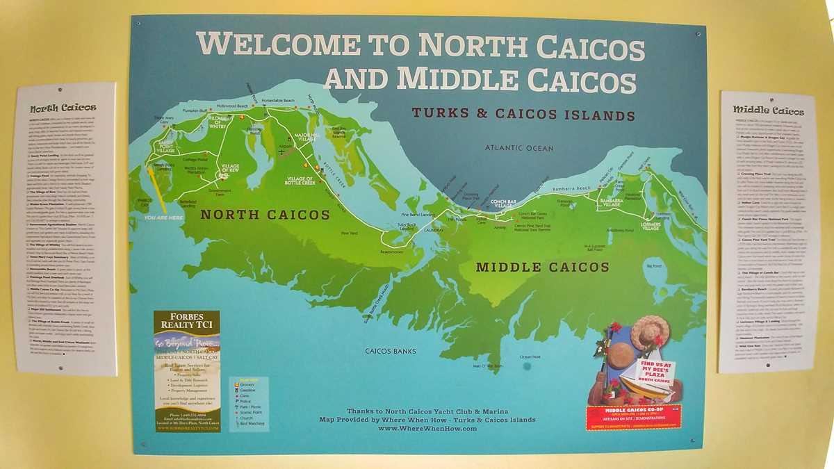Ausflüge nach North Caicos und Middle Caicos sind per Fähre möglich