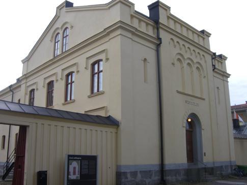 Das Hotell Gamla Fängelset von außen