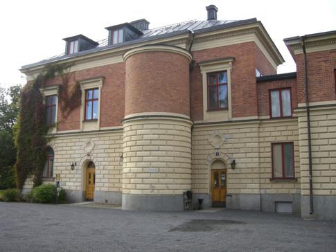 Die Landresidenz der Stadt in Nordschweden