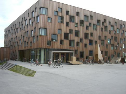 Ein Teil der Kunsthochschule von Umea