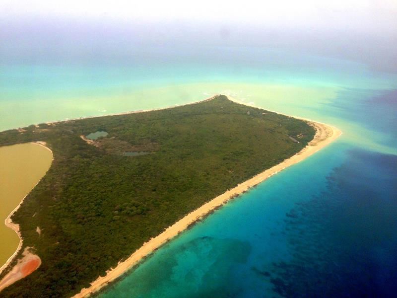 Sandy Point Beach, der südwestlichste Punkt von St. Croix